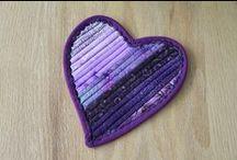 Hearts so Purple / All kinds of purple hearts
