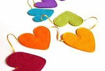 Hearts on Rainbows / Rainbowy hearts
