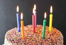 Birthdays / Birthdays, especially adult ones. I do think birthdays are a holiday and should be festive and fun.