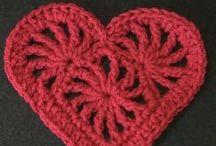 Hearts Crocheted / Crochet hearts