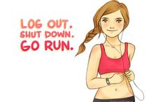 Inspiration for Getting Fit / by Genna Becker