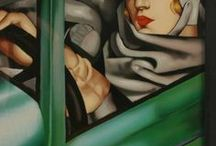 Retro Chic / Retro inspired clothes, decor, and design. Art deco, art nouveau, flapper chic, 1920's.