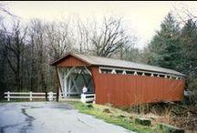Covered Bridges / Remembering Part of America's Heritage: Covered Bridges. Photos by Audrey J. Lambert