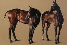 James Gillick Equestrian Paintings / New horse or equine oil paintings by James Gillick www.gillick-artist.com