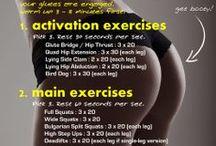 Workout Plan / Cvičební plány všeho druhu:)