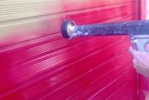 Vanda Coatings - Exterior Paint work / Examples of work carried out by our experience spray painting teams across the UK