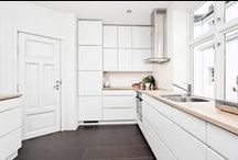 Kjøkken - Inspirasjon / Kjøkkeninspirasjon til deg som skal pusse opp kjøkkenet!