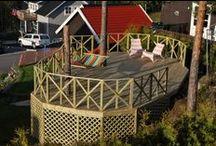 Hage og uteområde / Jobber i hage og på uteområder gjort via Mittanbud.no. Terrasse, platting, belegningstein / brostein, plen, hekk og planter, rekkverk og uteboder.