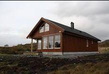 Hytter, hus og andre nybygg / Større prosjekter og nybygg som er satt opp via Mittanbud.no.