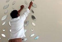 Artist Siraj Saxena at Work / Artist Siraj Saxena at Work