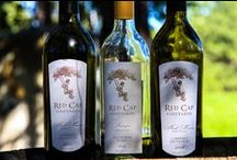 Red Cap Vineyards / Red Cap makes wine for family and friends.  They think of their customers as friends and consider their friends family.  They craft their wines with care and want you to share and enjoy them with your family.