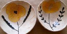 ceramics / 도자기 만들기 자료