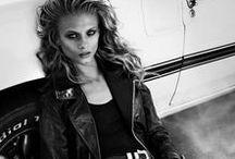 Biker Girl Style / Biker Girl Life & Style. Biker Street style. Rebel, Punk, Rocker, Grunge Styles.