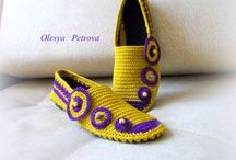 Crochet shoes, sneakers, boots , flats, Slippers / #crochetboots, #handmadeshoes, #crochetshoes