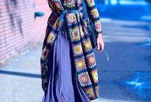 Granny square Ideas / Granny square, Granny square Dress, crochet Granny square, Granny square Tunic, Crochet accessories, home decor,