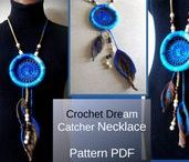 Crochet Jewelry Pattern / Crochet Jewelry Pattern, Crochet neclace, pattern pdf, collars