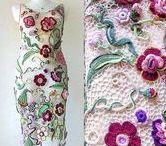Floral clothes - Women's summer flowers dresses and accessories / #Floral dress #flowers dress, summer trend 2017, #crochet dress, Women's #summer flower #dresses, accessories