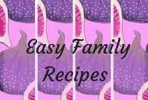 Easy family recipes / If you find you are cooking the same old dinners for your family and you want a change. Then this is for you. A one-stop-shop of easy family recipes to jazz up dinner time.
