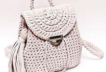 Crochet Bag, Handbag, Tote, purse / Crochet bag, knitting bag, tote, boho, hobo, purse handmade