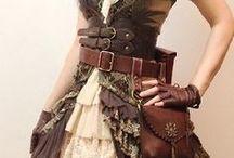 Steampunk, Gothic style / steampunk, steampunk wedding, steampunk dress, steampunk accessories, gothic, gothic dress, gothic wedding