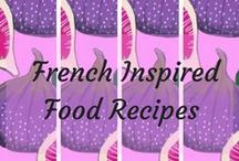 French inspired food recipes / I lived in Paris for two years. The best things about life there was the food. This is my little space where you will find the very best of French-inspired food recipes.