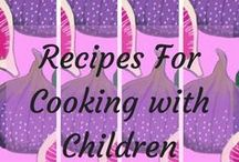Recipes for cooking with children