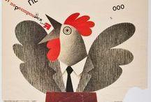 Art Theme - Chickens