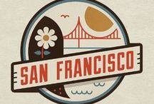 Illustration Art - San Francisco / Love this city!