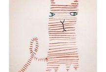 Illustration Art - Cats