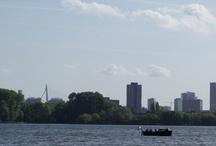 Rotterdam / Deze board bevat foto's van diverse gebouwen en kunstvoorwerpen in Rotterdam