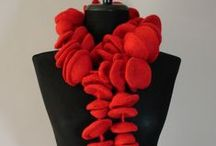 Fashion: Felt / Felted clothing, hats, scarfs and shoes