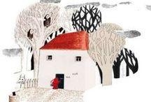 Illustration Art - Buildings