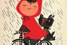 Illustration Art - Cycling