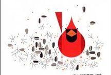 Illustration Art - Charley Harper Birds