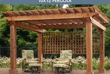 Pergolas & Gazebos  / Turn an ordinary backyard into someplace special With Ulrich Barn Builders Patio Products