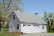 Ulrich Garages / Ulrich Garages and Custom Onsite Division offers a complete line of custom, on-site built, one and two story garages and horse barns.   All garages and horse barns include complete on-site construction, concrete foundations, custom painting, and a large selection of roofing types and colors.