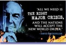 NewWorldOrder & Agenda21 / UN Treaties (LOST, Rights of the Child, etc), Agenda 21, Illuminati Agenda, Population Control (incl vaccines), and related issues / by Marie Carmean