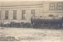 Vejprnice, Obchod a služby / Historické fotografie obchodů a služeb ve Vejprnicích.