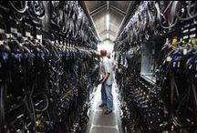 Data Centers / The inner workings of a data center.