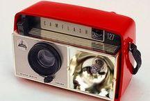 Art Theme - Photo Camera / Vintage camera's and camera illustrations.