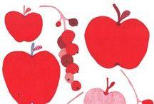 Illustration Art - Fruit and Vegetables