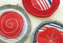 DIY - Jewellery - Felt and Fabrics