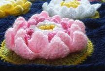 Creative with... / Quilts, Macramé, Knitting, Crochet, Embroidery, aso