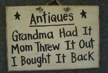 Antique Vintage Brocante / So... it's old... and bring memories...