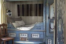 Swedish... inspiration for a cupboard bed
