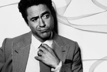 Robert Downey Jr. / Robert Downey Jr. deserves his own board not only because he is amazingly attractive, but mainly because he has a beautiful, broken soul. This man has resonated with me since I can remember and I am so happy that he seems to have found a way to keep his demons at bay. He is a truly talented actor who is so raw and always brings a part of himself into his characters. I love his sense of his and his boyish charm, I love the way he looks at his wife in photographs and interviews. This man is deep..