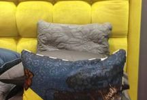 Upholstered Bedheads / Gorgeous upholstered bedheads in a variety of colors and sizes - fully customisable!