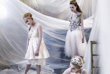 High fashion editorial shoot