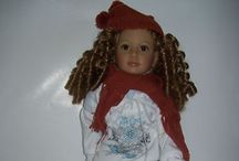 Kids and cats dolls