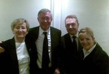 Guests of The Keadeen / Some famous Irish and International faces who have visited us recently!